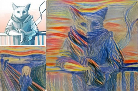 Deepart.io – Repaint your picture in the style of your favorite artist